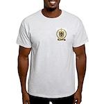 BONNET Family Crest Ash Grey T-Shirt