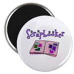 Scrapbooker Scrapper Memory B Magnet