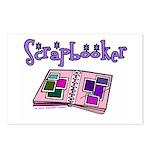 Scrapbooker Scrapper Memory B Postcards (Package o