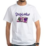 Scrapbooker Scrapper Memory B White T-Shirt