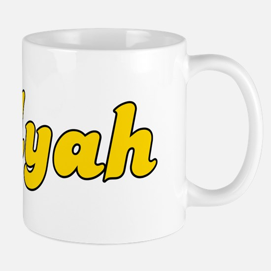 Retro Myah (Gold) Mug