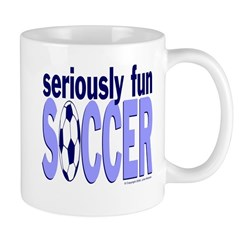 Seriously Fun Soccer Mug