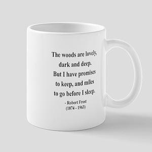 Robert Frost 9 Mug