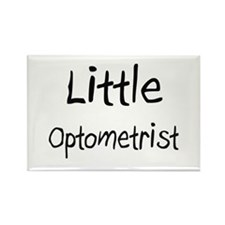 Little Optometrist Rectangle Magnet