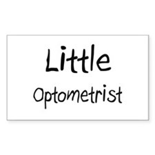 Little Optometrist Rectangle Sticker