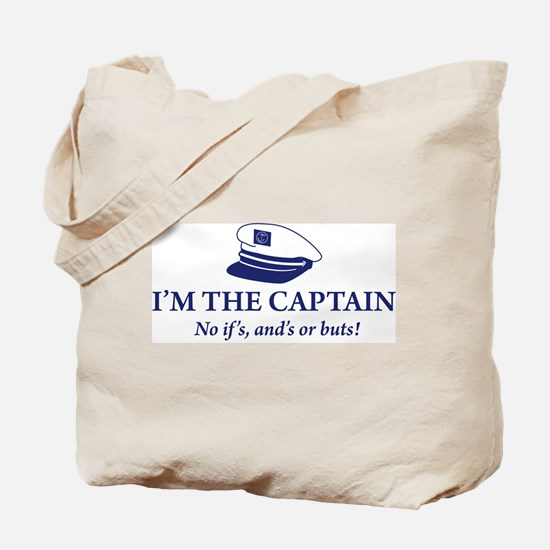 I'm the Captain 2 Tote Bag