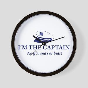 I'm the Captain 2 Wall Clock