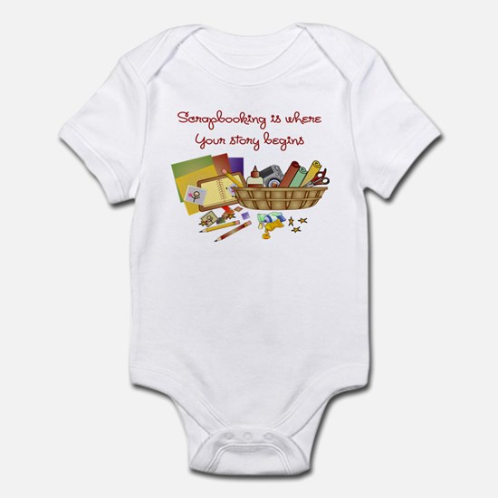 Scrapbooking Infant Bodysuit