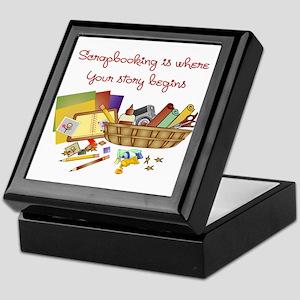 Scrapbooking Keepsake Box