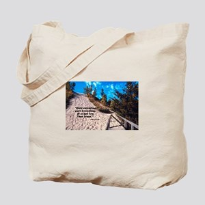 Trust - Beach Path Tote Bag