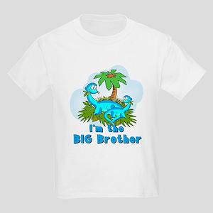 Big Brother Dinosaurs Kids Light T-Shirt