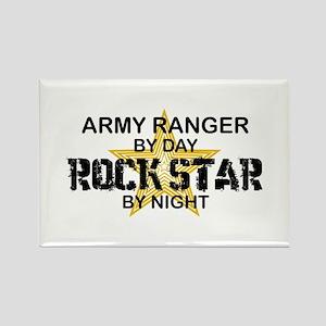 ARMY Ranger Rock Star Rectangle Magnet