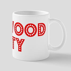 Retro Redwood City (Red) Mug