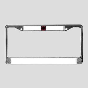 Black Ops License Plate Frame