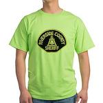 Riverside Sheriff Green T-Shirt