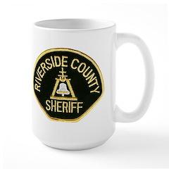 Riverside Sheriff Large Mug