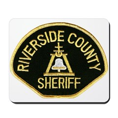 Riverside Sheriff Mousepad