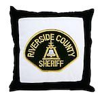 Riverside Sheriff Throw Pillow