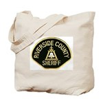 Riverside Sheriff Tote Bag