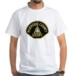 Riverside Sheriff White T-Shirt