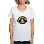 Riverside Sheriff Women's V-Neck T-Shirt