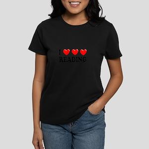 Reading Women's Dark T-Shirt