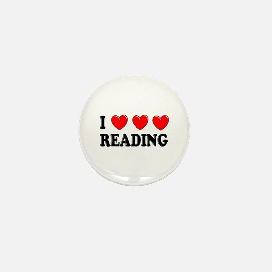 Reading Mini Button