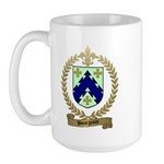BOURGEOIS Family Crest Large Mug