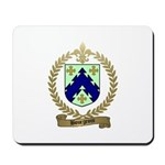 BOURGEOIS Family Crest Mousepad