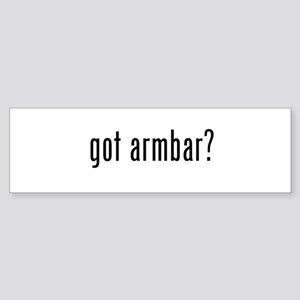 got armbar? Bumper Sticker