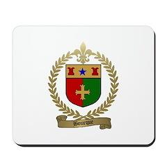 BOURQUE Family Crest Mousepad