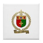 BOURQUE Family Crest Tile Coaster