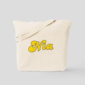 Retro Nia (Gold) Tote Bag