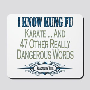 Kung Fu Mousepad