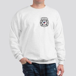 Fire Fighter Wife Sweatshirt