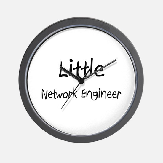 Little Network Engineer Wall Clock