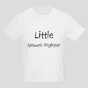 Little Network Engineer Kids Light T-Shirt