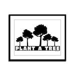 Plant Tree Framed Panel Print