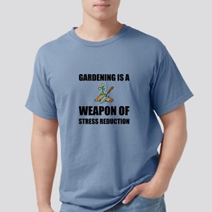 Weapon of Stress Reduction Gardening T-Shirt