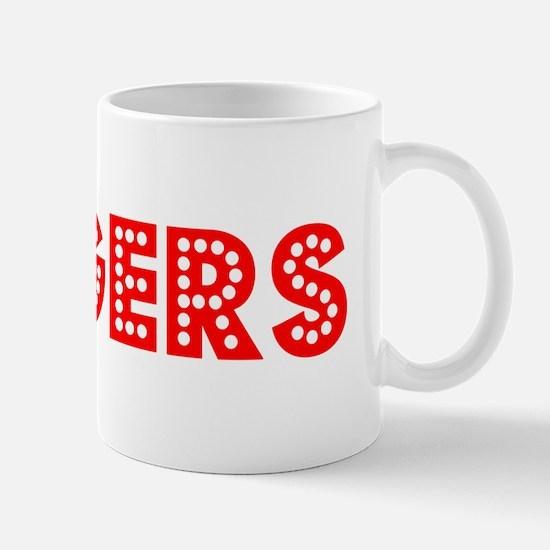 Retro Rogers (Red) Mug
