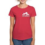 Plant Tree Pocket Image Women's Dark T-Shirt
