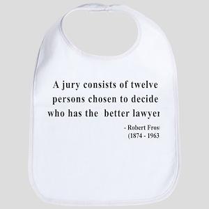 Robert Frost 6 Bib