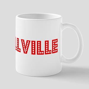 Retro Russellville (Red) Mug
