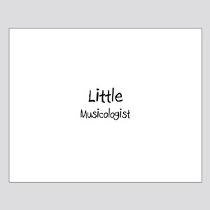 Little Musicologist Small Poster