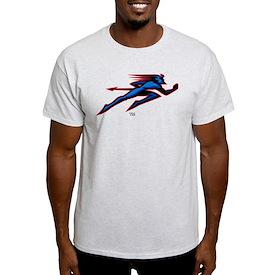 DePaul University Blue Demon Running T-Shirt