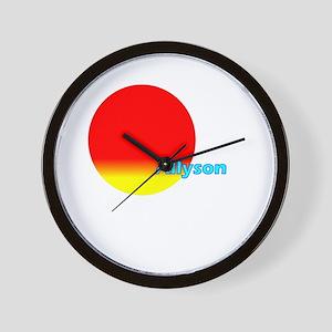 Allyson Wall Clock