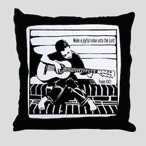 Psalm 100:1 Throw Pillow