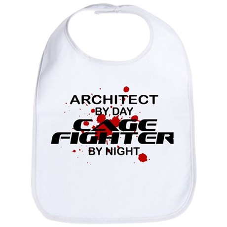 Architect Cage Fighter by Night Bib
