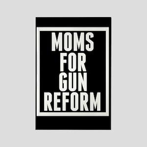 Moms for Gun Reform Rectangle Magnet
