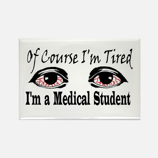 Medical Student Rectangle Magnet